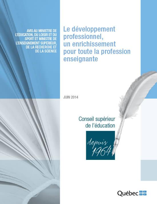 Le développement professionnel, un enrichissement pour toute la profession enseignante