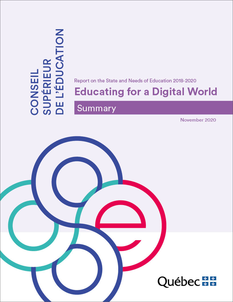 Summary - Educating for a Digital World