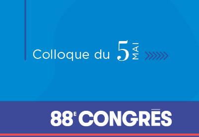 88e congres ACFAS - Colloque du 5 mai