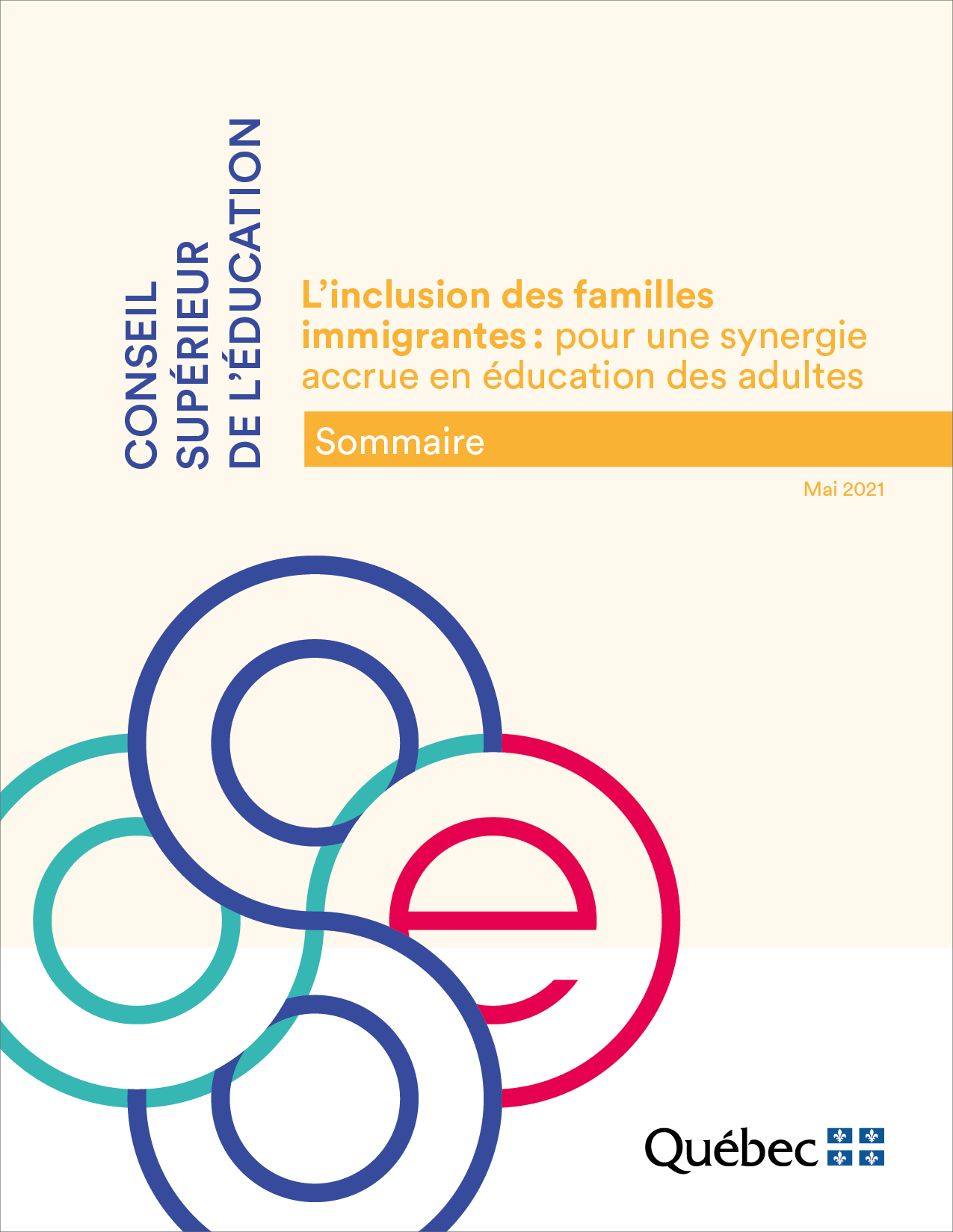 Sommaire - Inclusion des familles immigrantes
